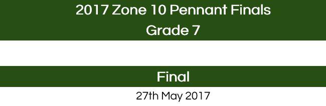 2017 Grade 7 Pennant Finals