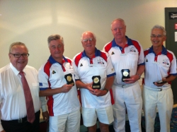 2012 Major Fours Runners Up